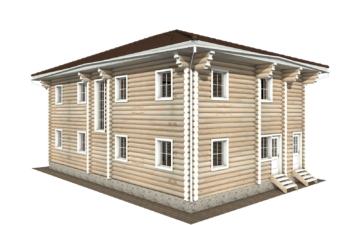 Фото #3: Красивый деревянный дом РС-122 из бревна
