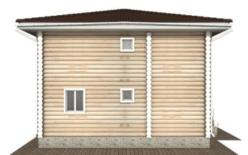 Фото #9: Красивый деревянный дом РС-134 из бревна