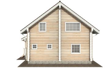 Фото #9: Красивый деревянный дом РС-135 из бревна