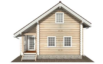 Фото #9: Красивый деревянный дом РС-137 из бревна