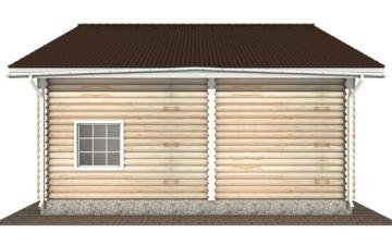 Фото #9: Красивый деревянный дом РС-138 из бревна