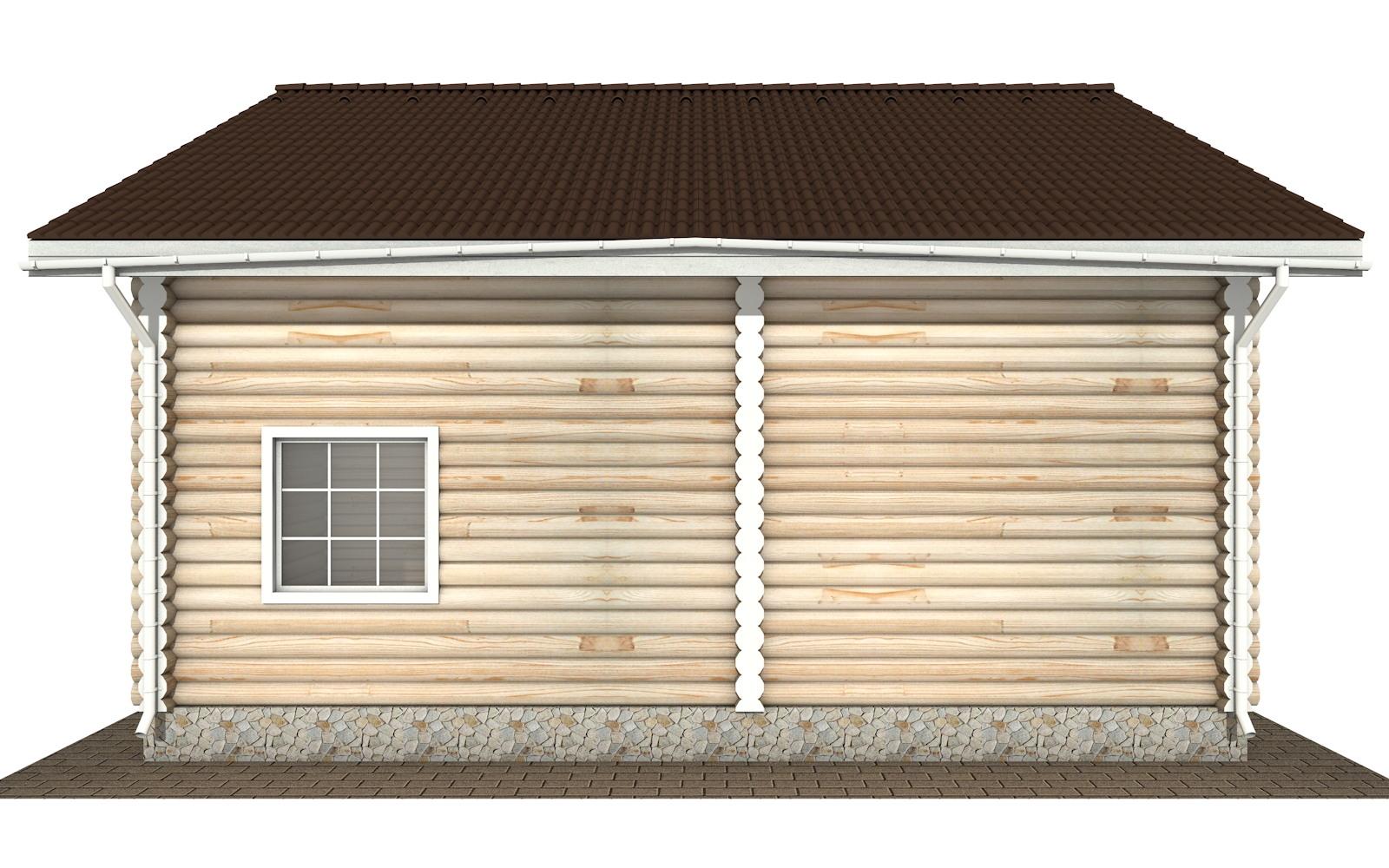 Фото #8: Красивый деревянный дом РС-138 из бревна