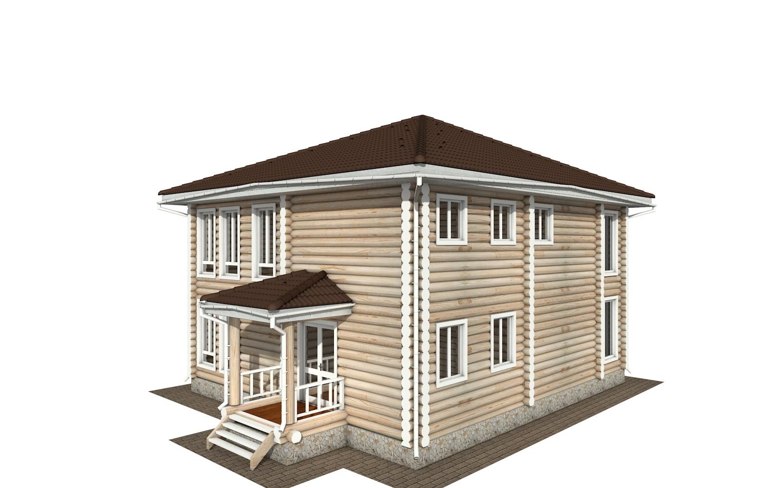 Фото #5: Красивый деревянный дом РС-139 из бревна