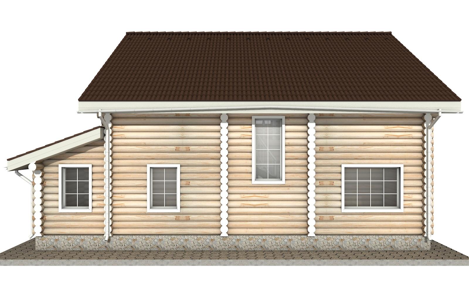 Фото #8: Красивый деревянный дом РС-16 из бревна