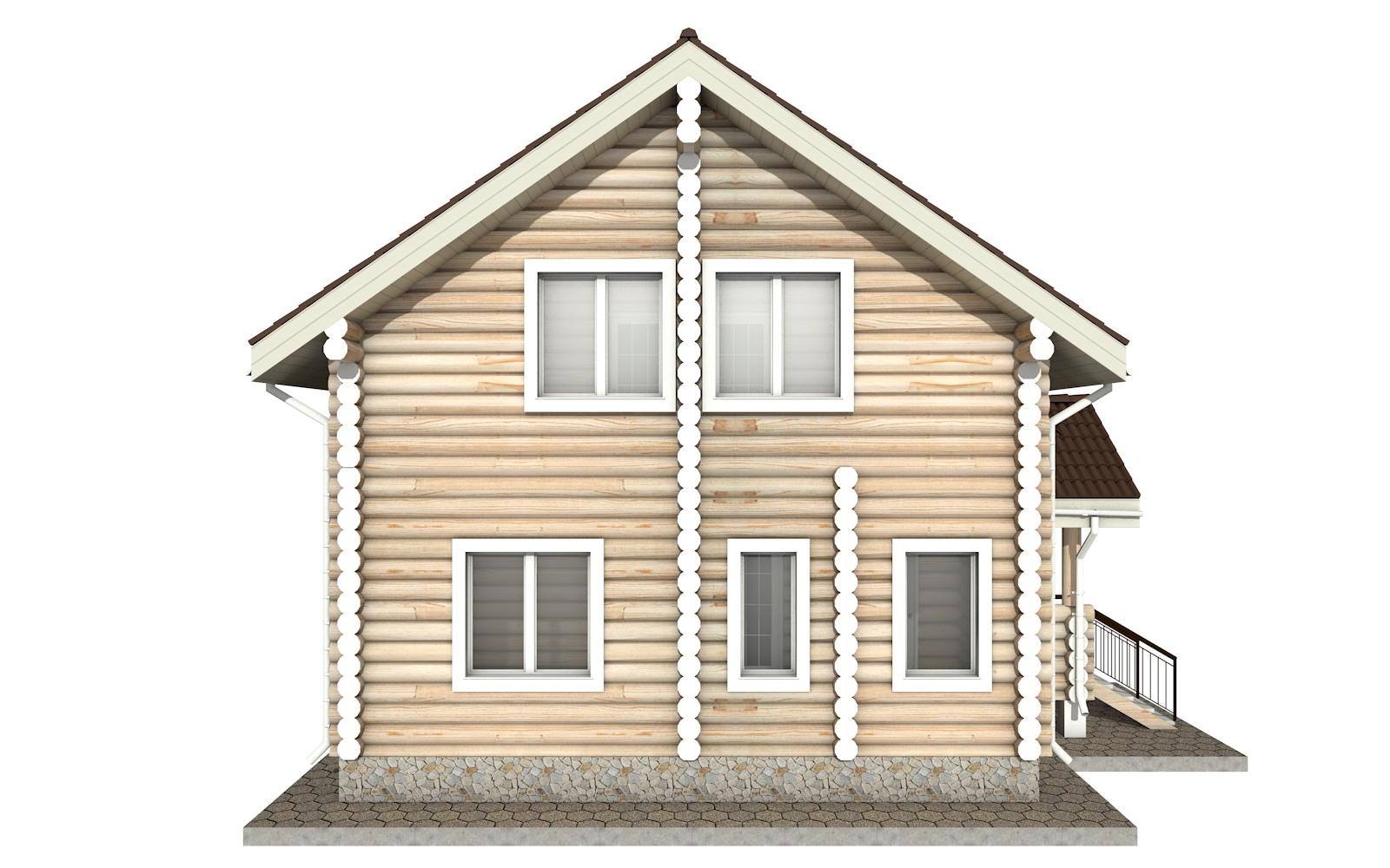 Фото #8: Красивый деревянный дом РС-18 из бревна