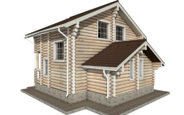 Фото #6: Красивый деревянный дом РС-1 из бревна