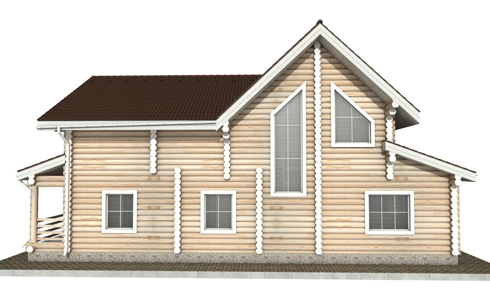 Фото #8: Красивый деревянный дом РС-31 из бревна