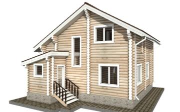 Фото #6: Красивый деревянный дом РС-34 из бревна