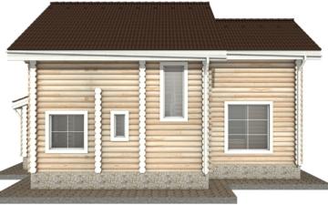 Фото #9: Красивый деревянный дом РС-36 из бревна