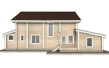 Фото #9: Красивый деревянный дом РС-37 из бревна
