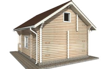 Фото #6: Красивый деревянный дом РС-41 из бревна