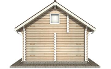 Фото #9: Красивый деревянный дом РС-41 из бревна