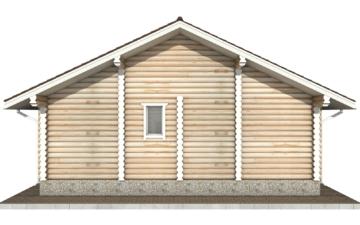 Фото #9: Красивый деревянный дом РС-44 из бревна