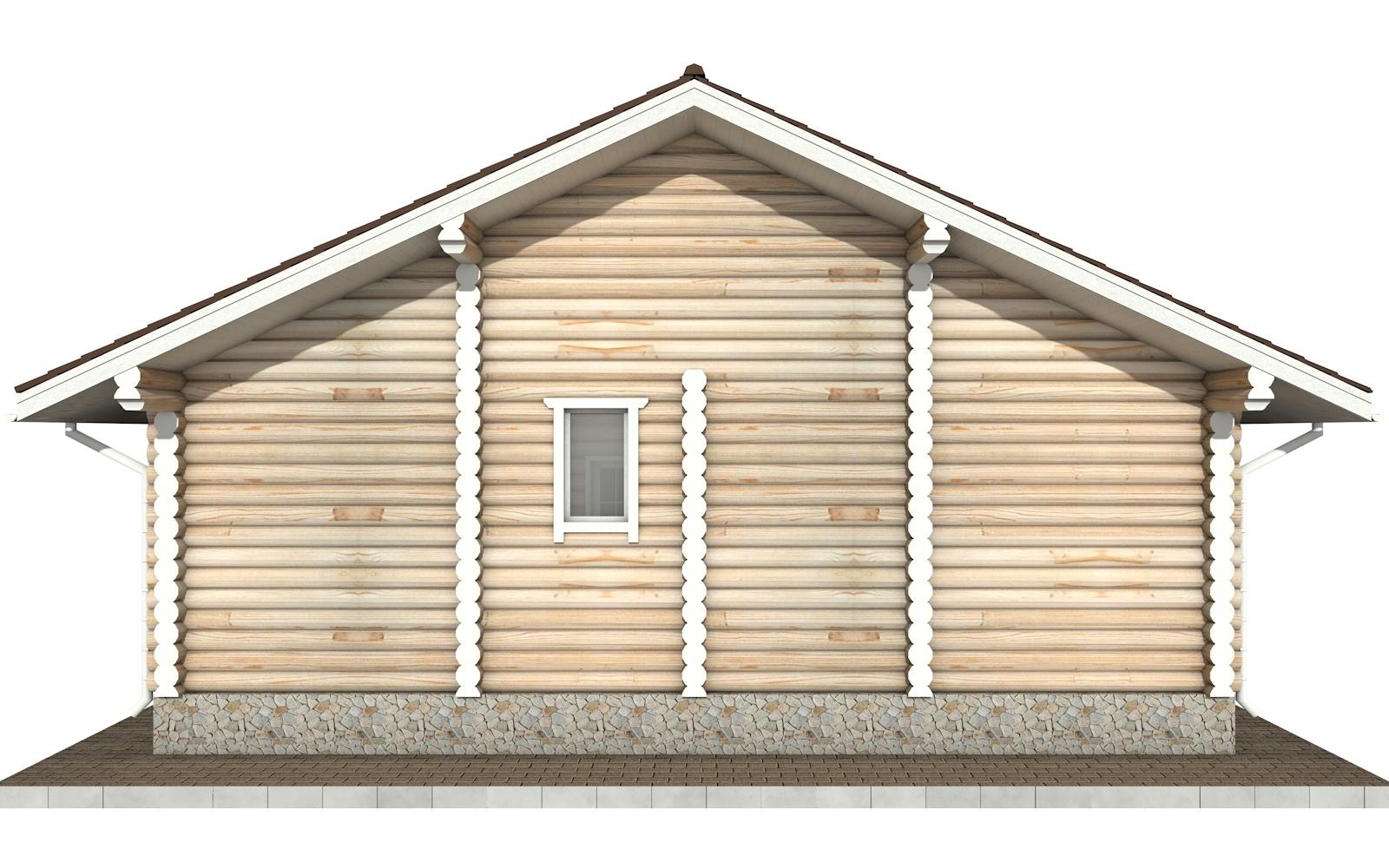 Фото #7: Красивый деревянный дом РС-44 из бревна