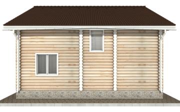 Фото #9: Красивый деревянный дом РС-45 из бревна