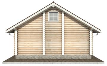 Фото #9: Красивый деревянный дом РС-51 из бревна
