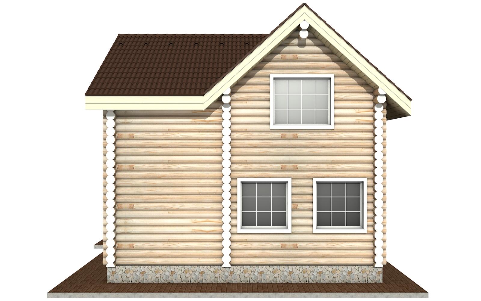 Фото #9: Красивый деревянный дом РС-2 из бревна