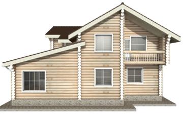 Фото #10: Красивый деревянный дом РС-10 из бревна