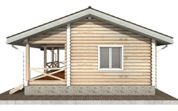 Фото #10: Красивый деревянный дом РС-101 из бревна