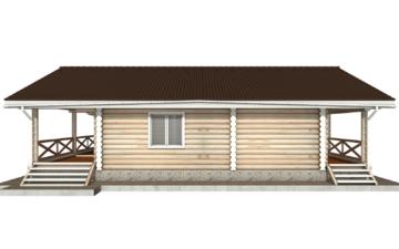 Фото #10: Красивый деревянный дом РС-102 из бревна