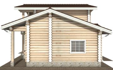 Фото #10: Красивый деревянный дом РС-106 из бревна