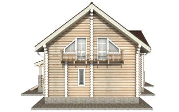 Фото #10: Красивый деревянный дом РС-11 из бревна