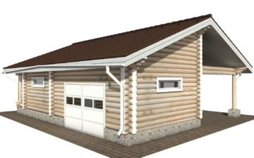 Фото #6: Красивый деревянный дом РС-108 из бревна