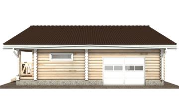 Фото #10: Красивый деревянный дом РС-108 из бревна
