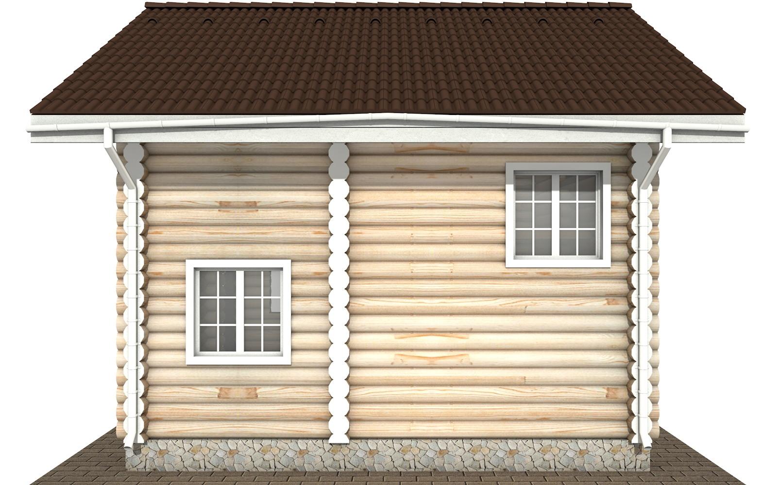 Фото #9: Красивый деревянный дом РС-109 из бревна