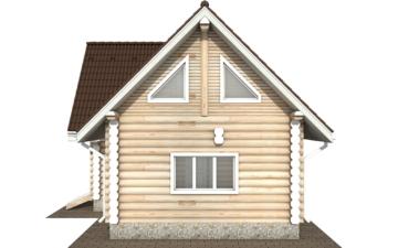 Фото #10: Красивый деревянный дом РС-117 из бревна