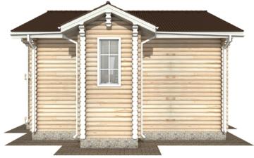Фото #10: Красивый деревянный дом РС-121 из бревна