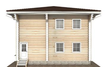 Фото #10: Красивый деревянный дом РС-122 из бревна