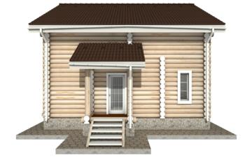 Фото #10: Красивый деревянный дом РС-13 из бревна