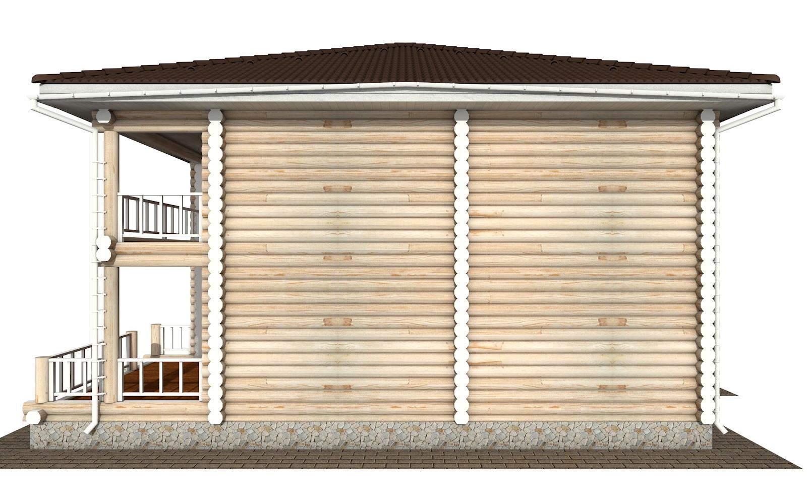 Фото #9: Красивый деревянный дом РС-139 из бревна