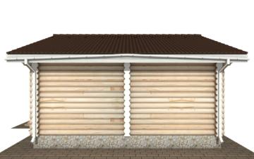 Фото #10: Красивый деревянный дом РС-140 из бревна