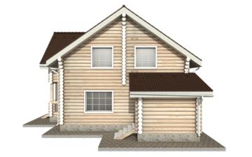 Фото #10: Красивый деревянный дом РС-16 из бревна