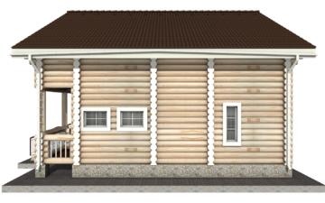 Фото #10: Красивый деревянный дом РС-3 из бревна