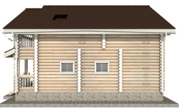 Фото #10: Красивый деревянный дом РС-21 из бревна