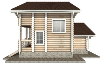Фото #10: Красивый деревянный дом РС-1 из бревна