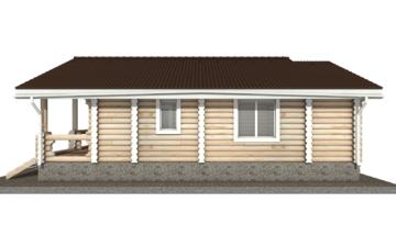 Фото #10: Красивый деревянный дом РС-38 из бревна