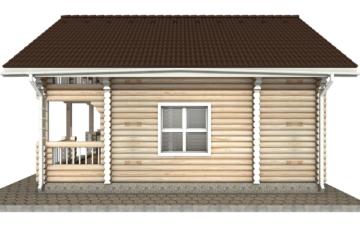 Фото #10: Красивый деревянный дом РС-41 из бревна