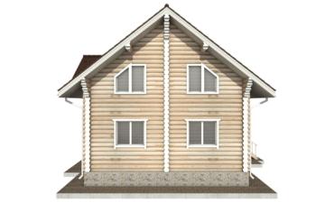 Фото #10: Красивый деревянный дом РС-50 из бревна
