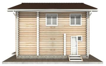 Фото #10: Красивый деревянный дом РС-60 из бревна