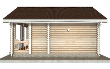 Фото #10: Красивый деревянный дом РС-88 из бревна