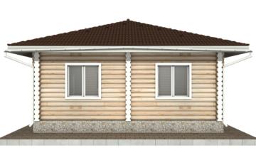 Фото #10: Красивый деревянный дом РС-89 из бревна