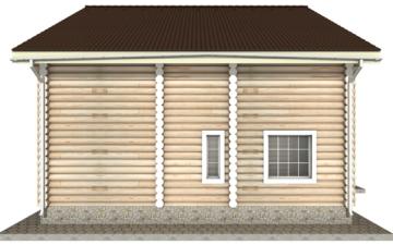 Фото #10: Красивый деревянный дом РС-9 из бревна