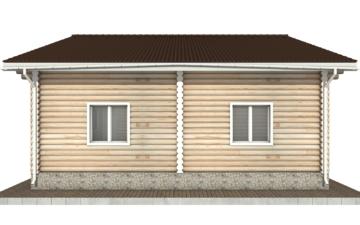 Фото #10: Красивый деревянный дом РС-91 из бревна