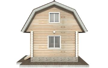 Фото #10: Красивый деревянный дом РС-94 из бревна