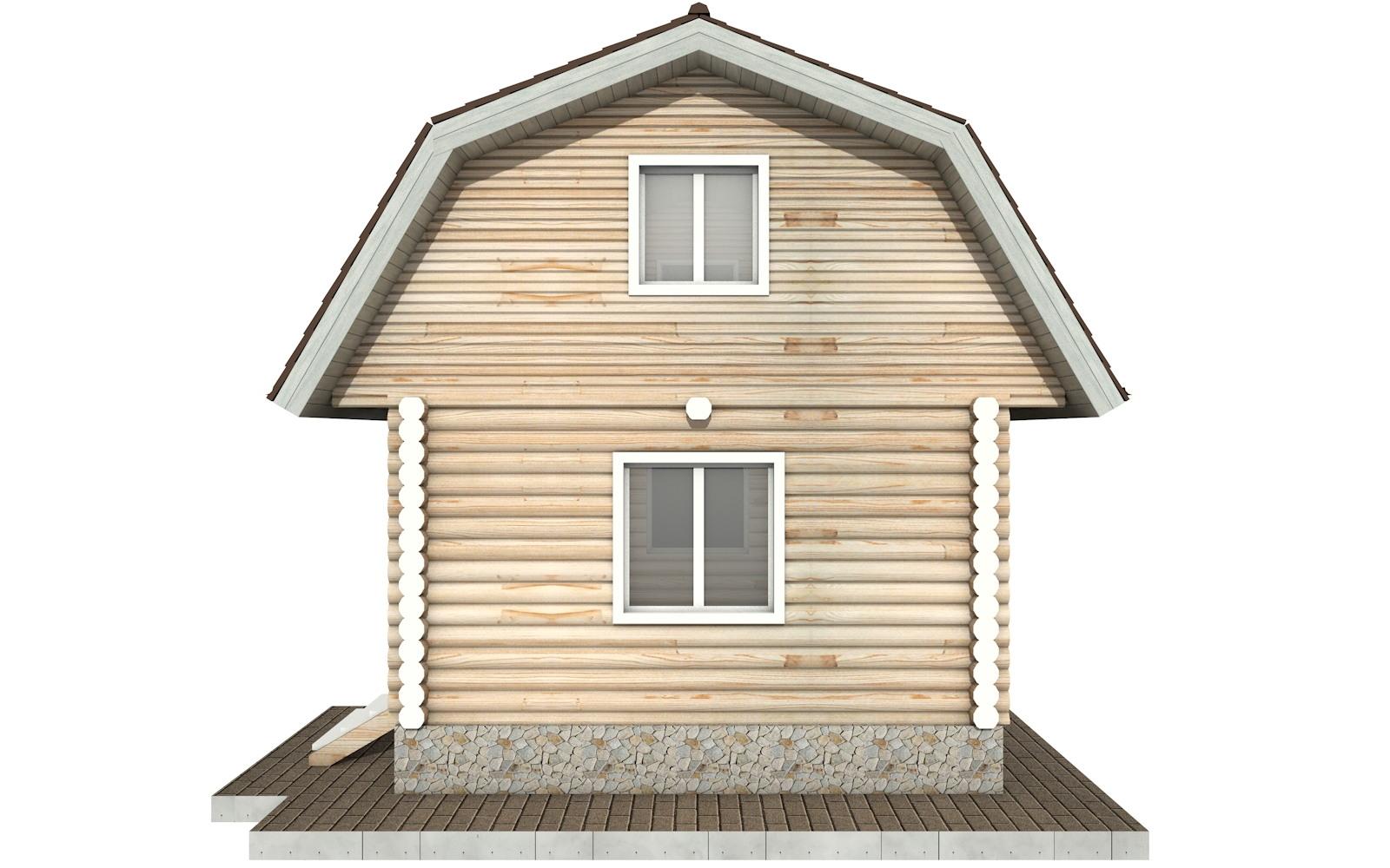 Фото #9: Красивый деревянный дом РС-94 из бревна