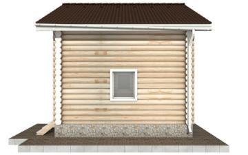 Фото #10: Красивый деревянный дом РС-95 из бревна